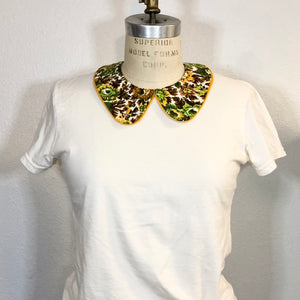 Retro Fabric Detachable Collar