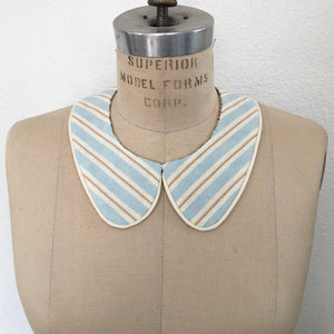 Retro Fabric Detachable Collar *reversible!*