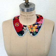 Load image into Gallery viewer, Retro Fabric Detachable Collar *reversible!*