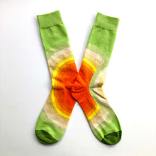 Load image into Gallery viewer, Lime Sunrise Socks