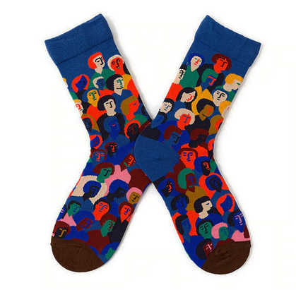 Happy Faces Socks