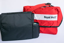 Load image into Gallery viewer, British Royal Mail Courier Messenger Bag with American Happy organizer