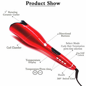 Air 360 Spin Curler Wand