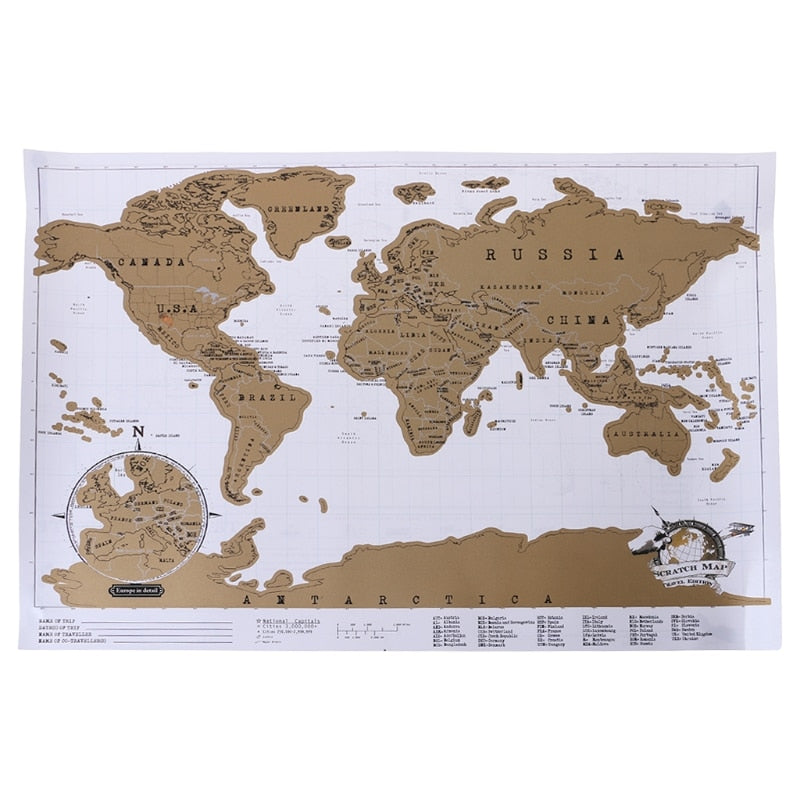 Deluxe Map White