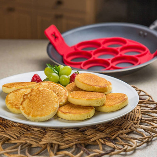 Easy-Flip Pancake/Egg Mold