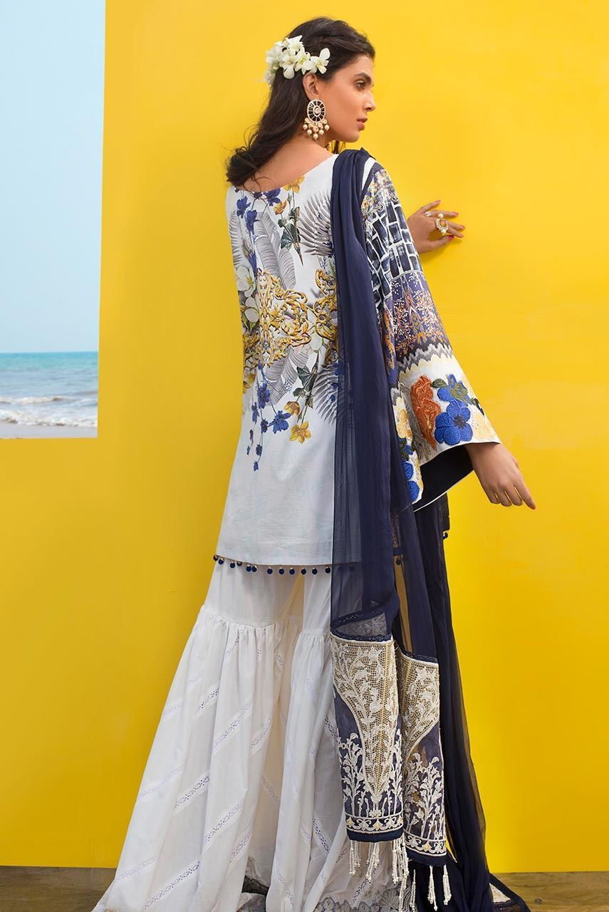 Aster - AISS11 [Ayesha Ibrahim Luxury Lawn'19]