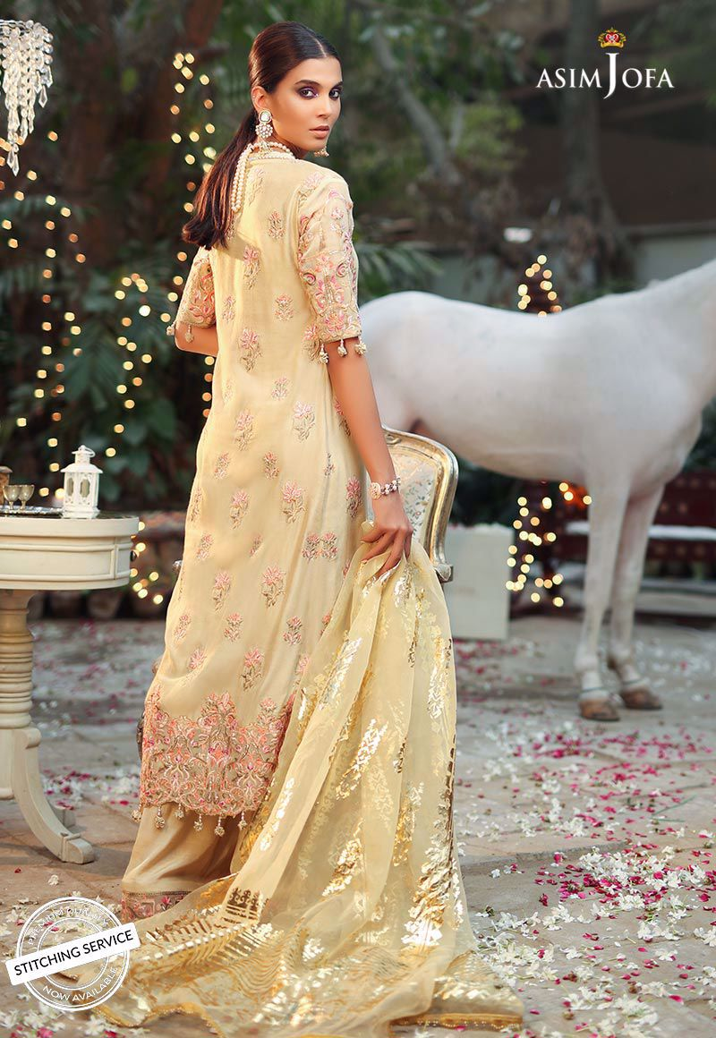 AJCN-08 [Asim Jofa - Signature Embroidered Collection'19]