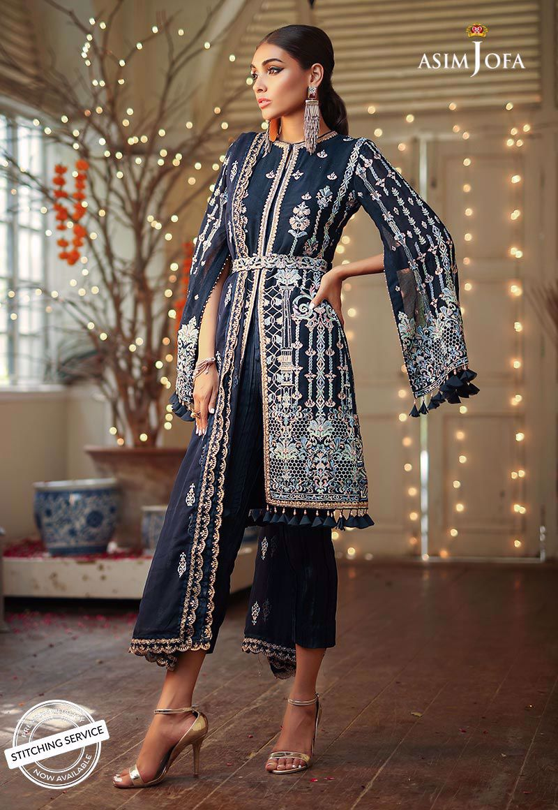 AJCN-06 [Asim Jofa - Signature Embroidered Collection'19]