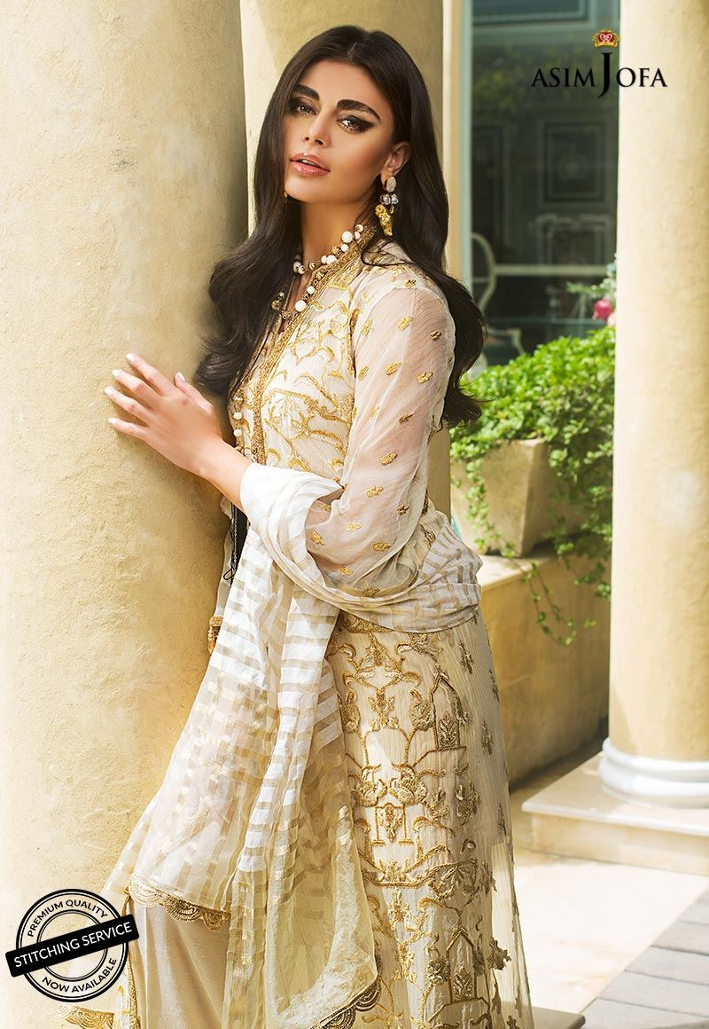 AJO-03 [Asim Jofa - Organza Collection]