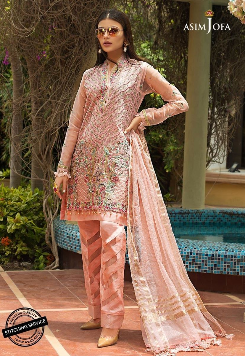 AJO-02 [Asim Jofa - Organza Collection]
