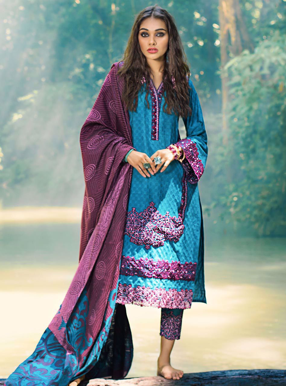 Imperial Mist (Zainab Chottani Luxury Shawl Collection)