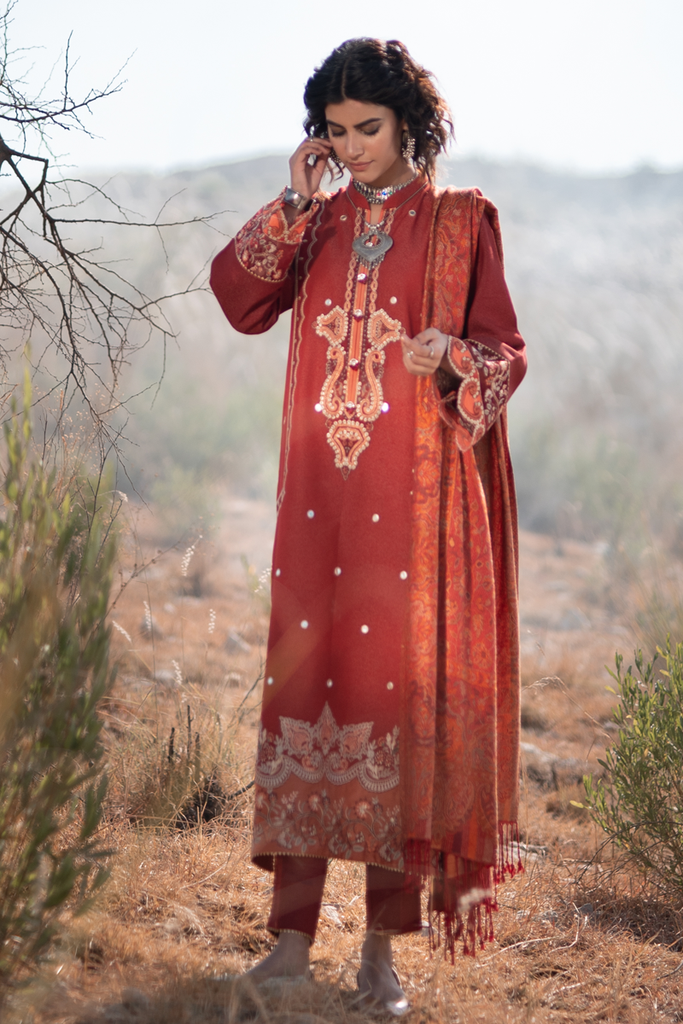 KS-05 | Qalamkar | Luxury Lawn Collection 2020