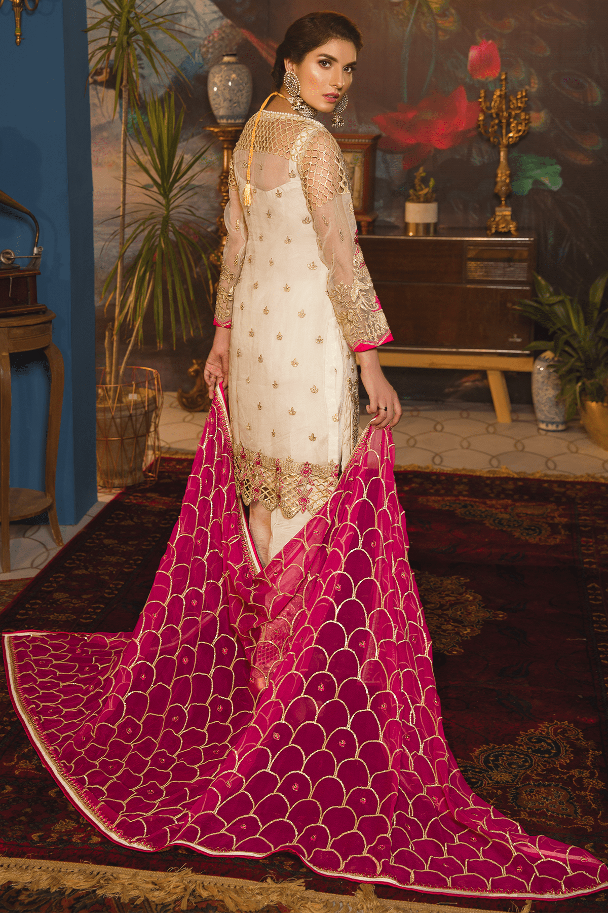 EA-701 [Emaan Adeel Luxury Chiffon Vol 7]