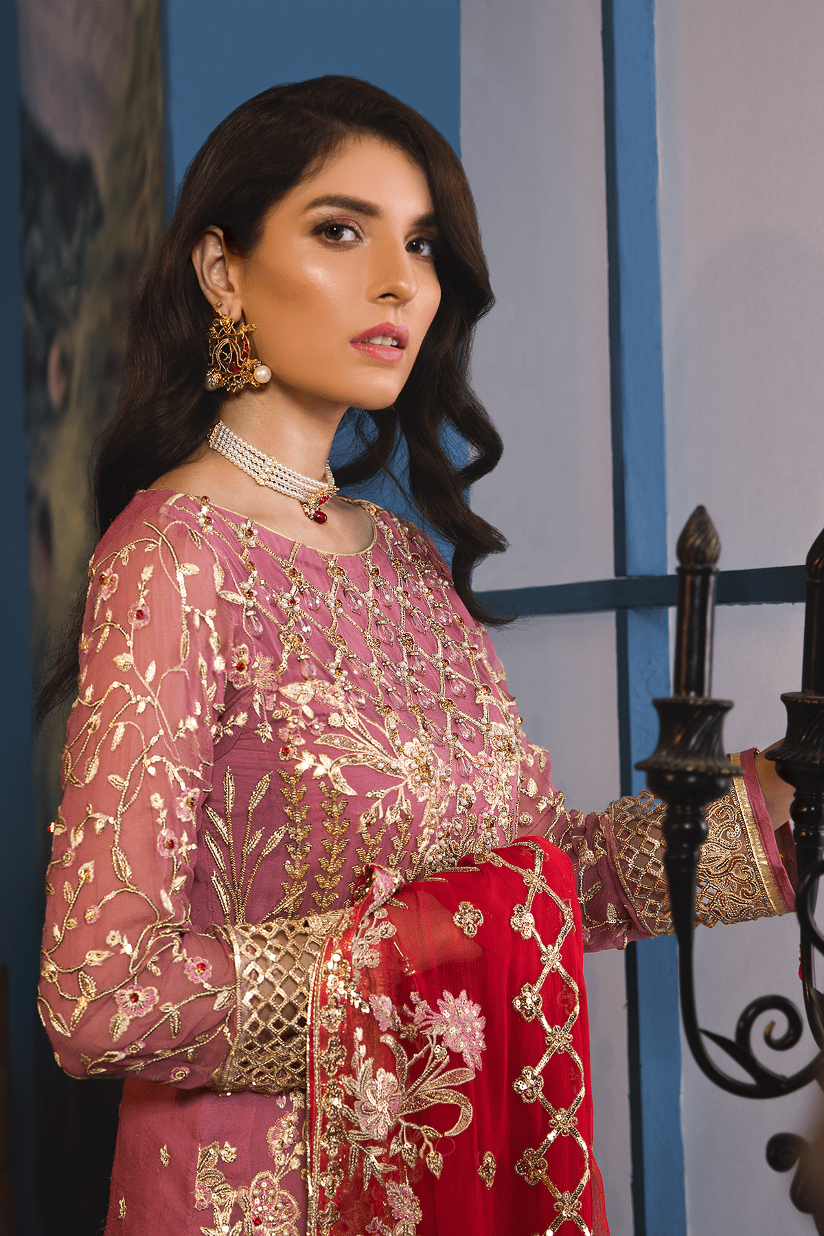 EA-707 [Emaan Adeel Luxury Chiffon Vol 7]
