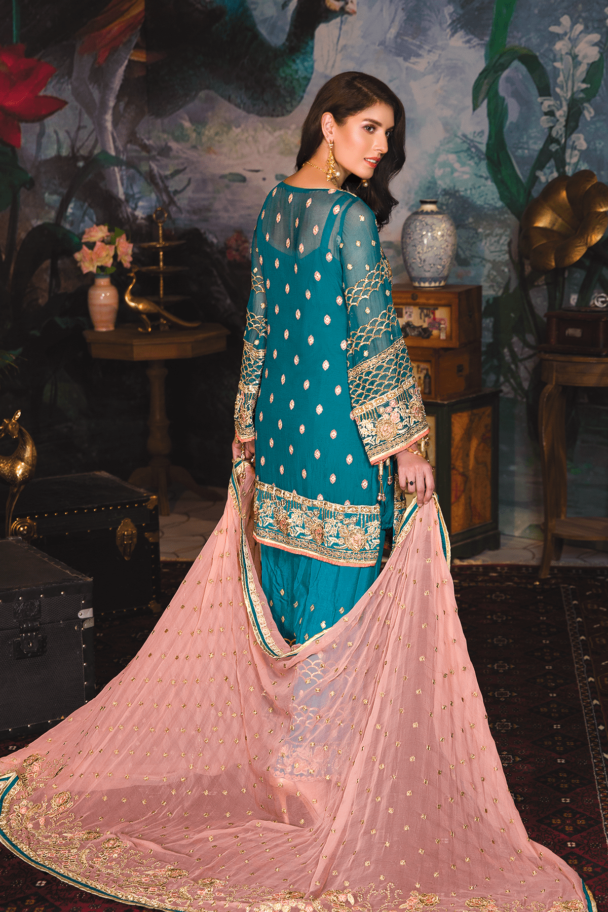 EA-705 [Emaan Adeel Luxury Chiffon Vol 7]