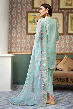 D703-A (Raaya - Embroidered Karandi Edition 2019)