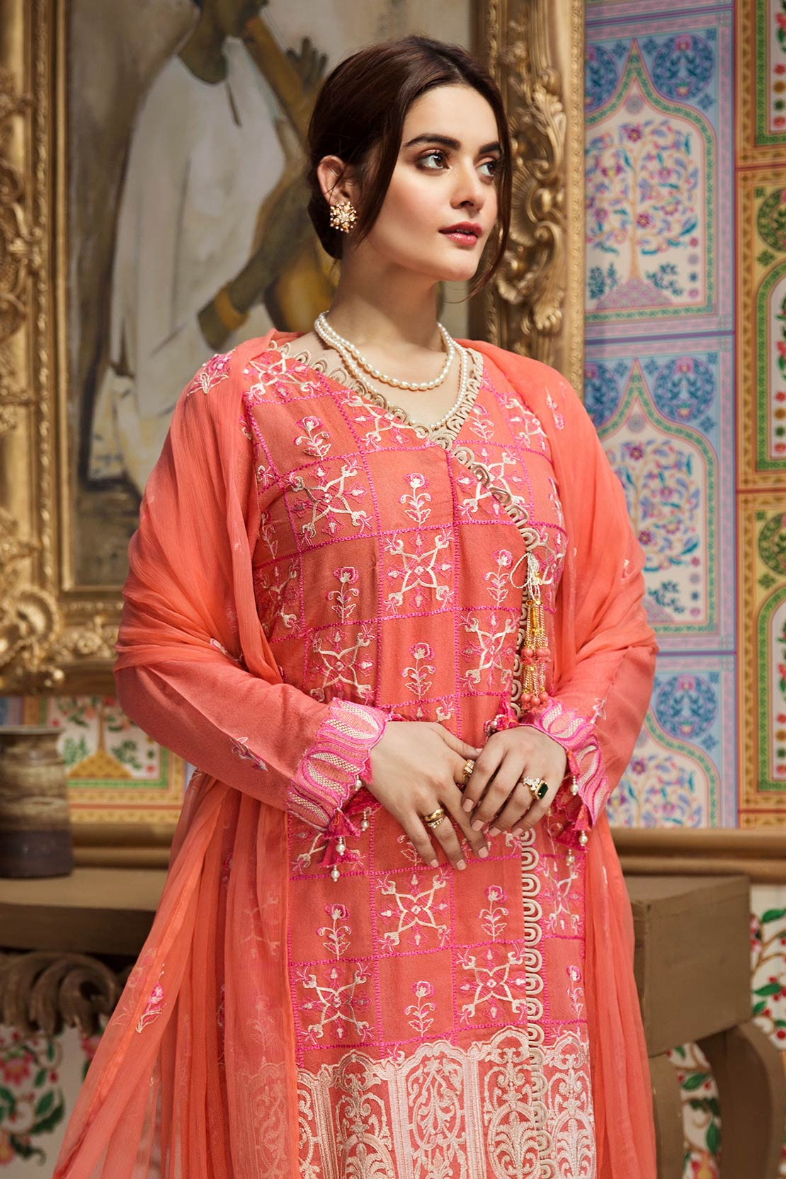 D704-A (Raaya - Embroidered Karandi Edition 2019)