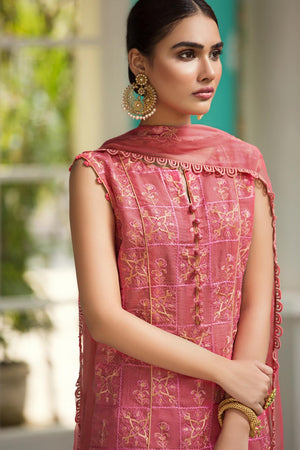D704-B (Raaya - Embroidered Karandi Edition 2019)