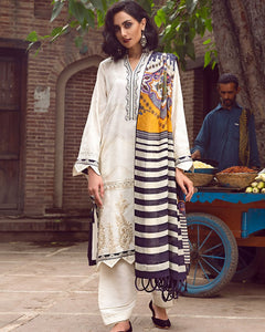 Naulakha ZW-04 (Zaha - Nafeesa Aur Taalia Unstitched Winter Collection)