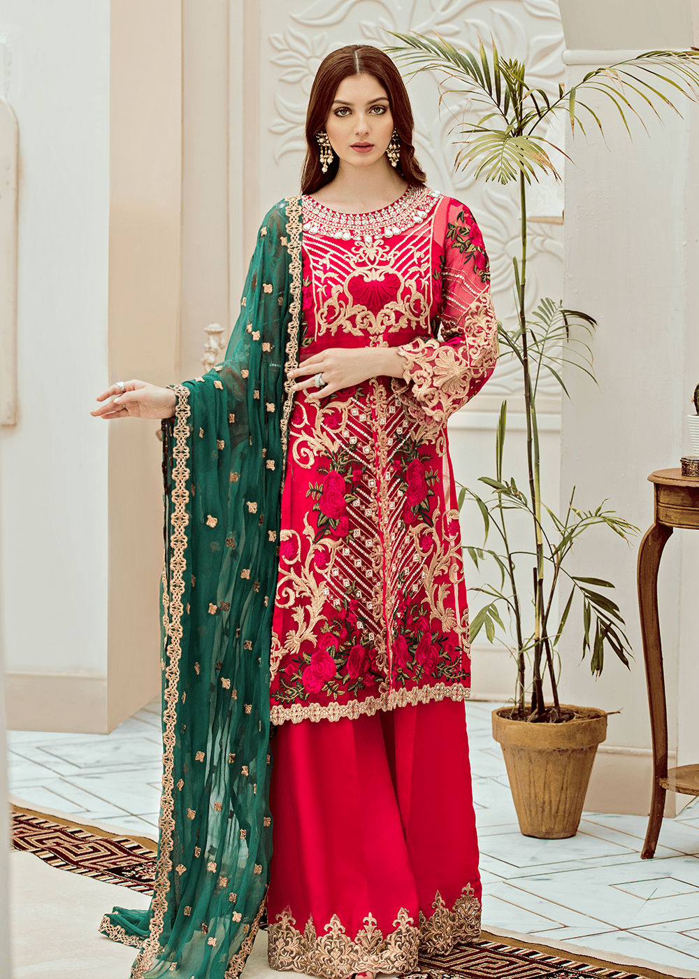 01 Fuchsia Viridescent (Afrozeh - Riona Collection 2019)