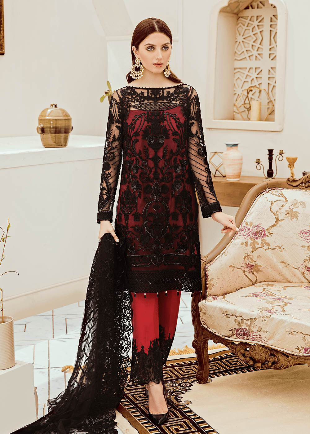 05 Black Ruby (Afrozeh - Riona Collection 2019)