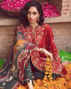 Rang Mahal ZW-09 (Zaha - Nafeesa Aur Taalia Unstitched Winter Collection)