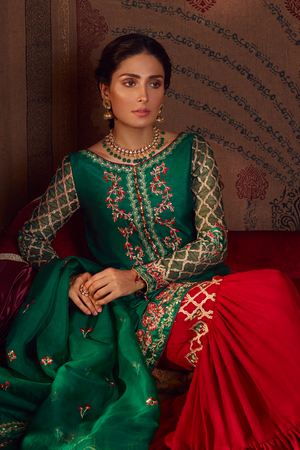 Samaal QF - 04 (Qalamkar Raiza Wedding Collection)