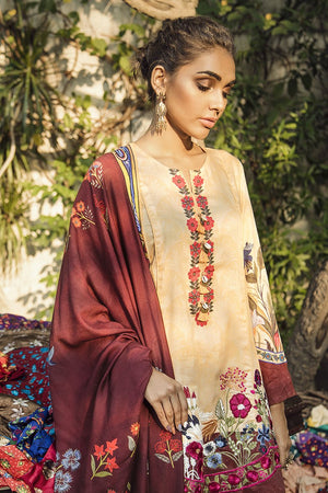 CARDINAL CHERRY (CROSS STITCH - AANGAN COTTON SATIN'19)
