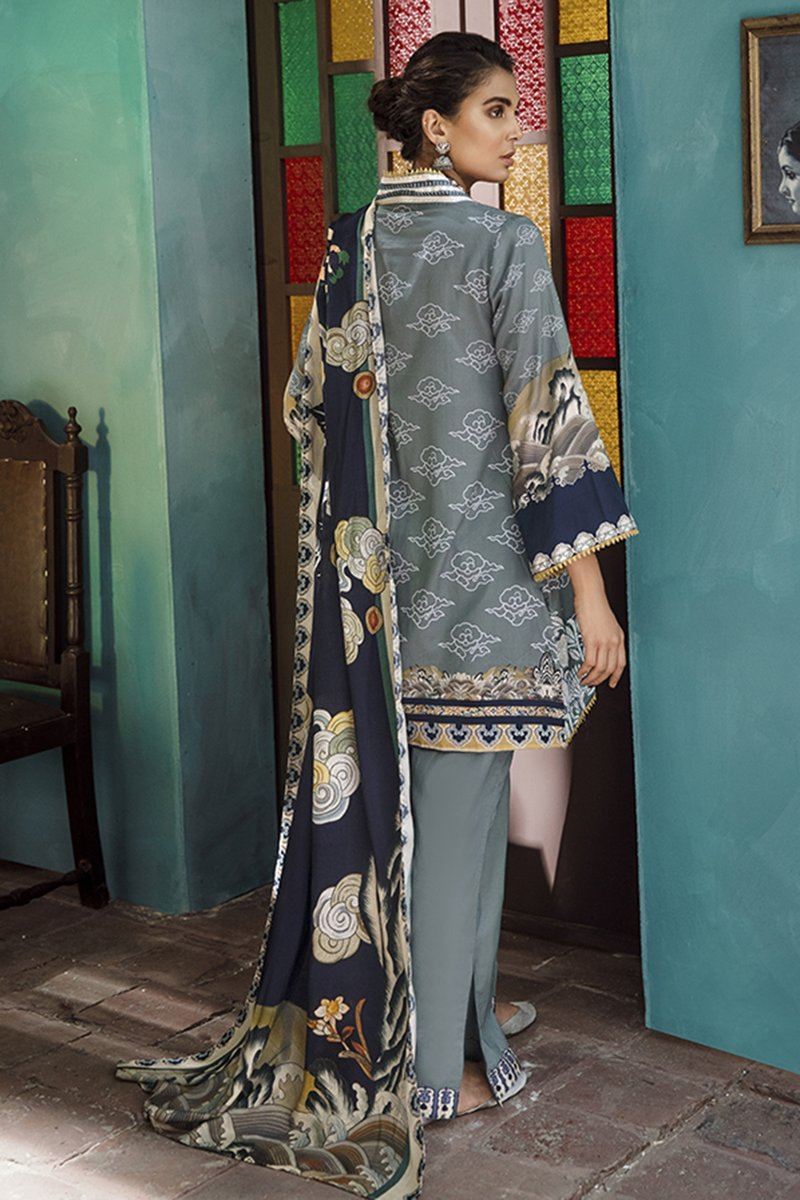 ORIENTAL STEAM (CROSS STITCH - AANGAN COTTON SATIN'19)