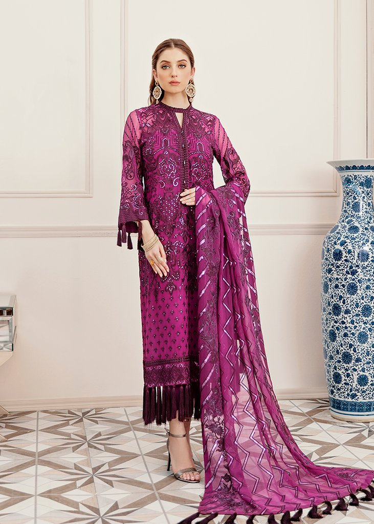 Tempest of Grapes | Afrozeh | La Fuchsia Collection