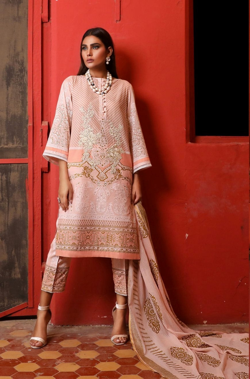 8A [Sana Safinaz - Kurnool Collection 2019]
