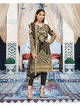 Souhaile D-8 (3-Piece Embroidered Chiffon Suit) | Gulaal | Adila Unstitched Luxury Formals