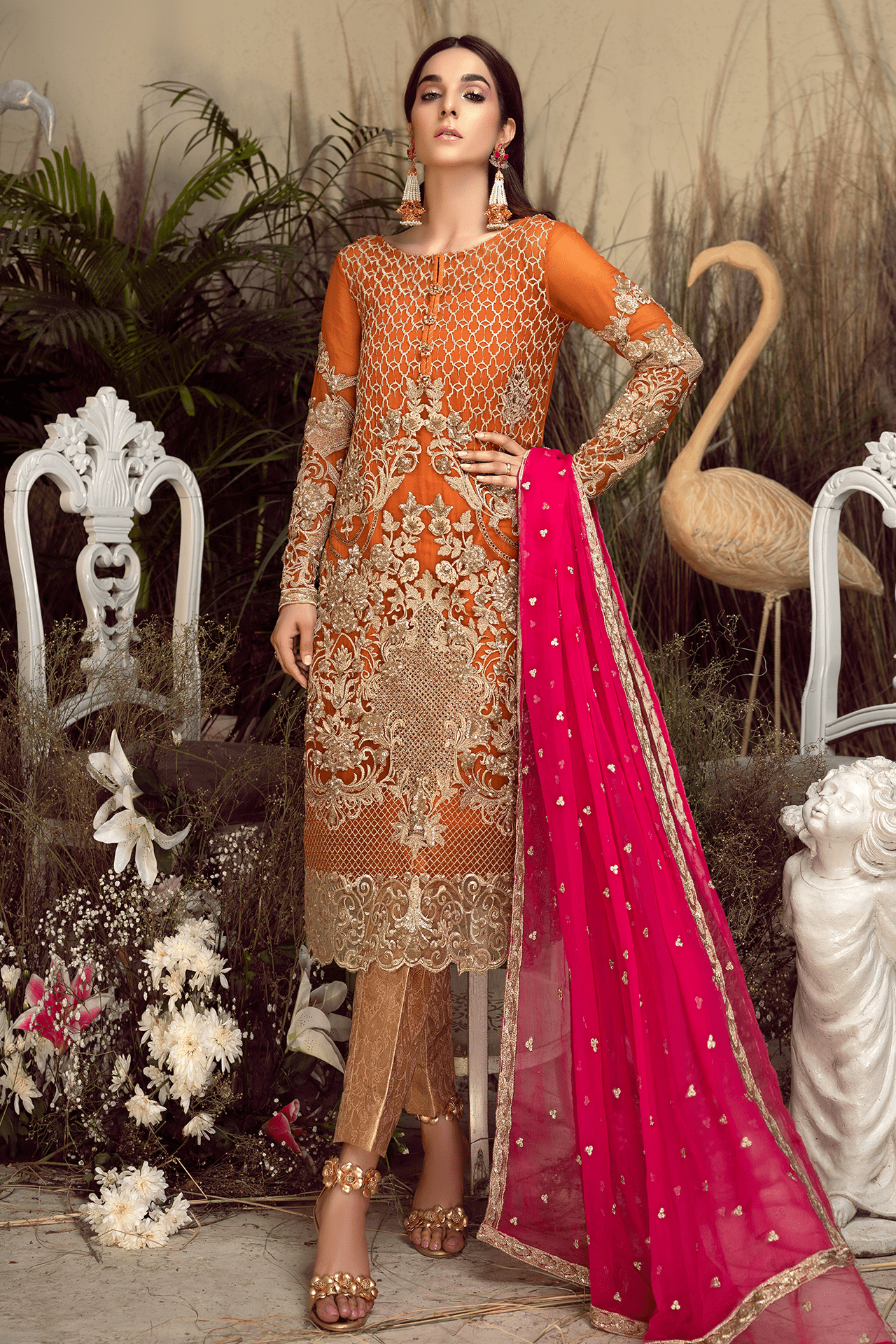 06 Apricot Nectar (Imrozia - Orabelle Chiffon Collection)