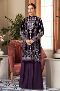 GV-03 Tribal Frenzy [Purple] (Gulaal - Velvet Wedding Collection)