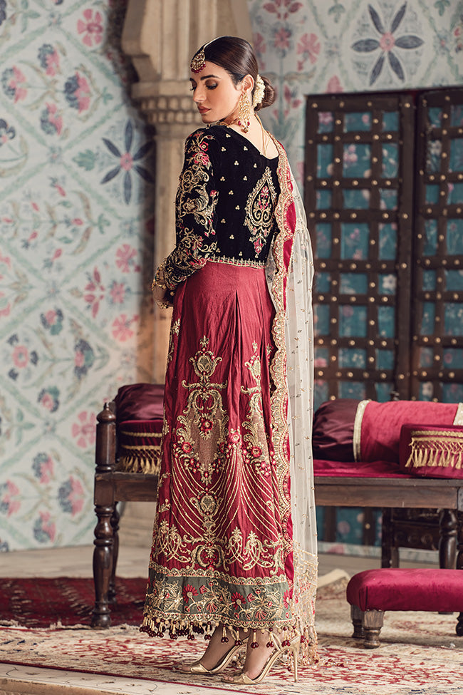 Aabroo GWF-03 (Gulaal - Zohra Wedding Collection 2019)