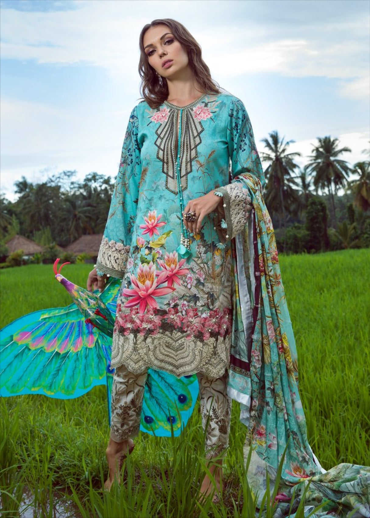 Lotus Dream 2B - Shiza Hassan Luxury Lawn 2019
