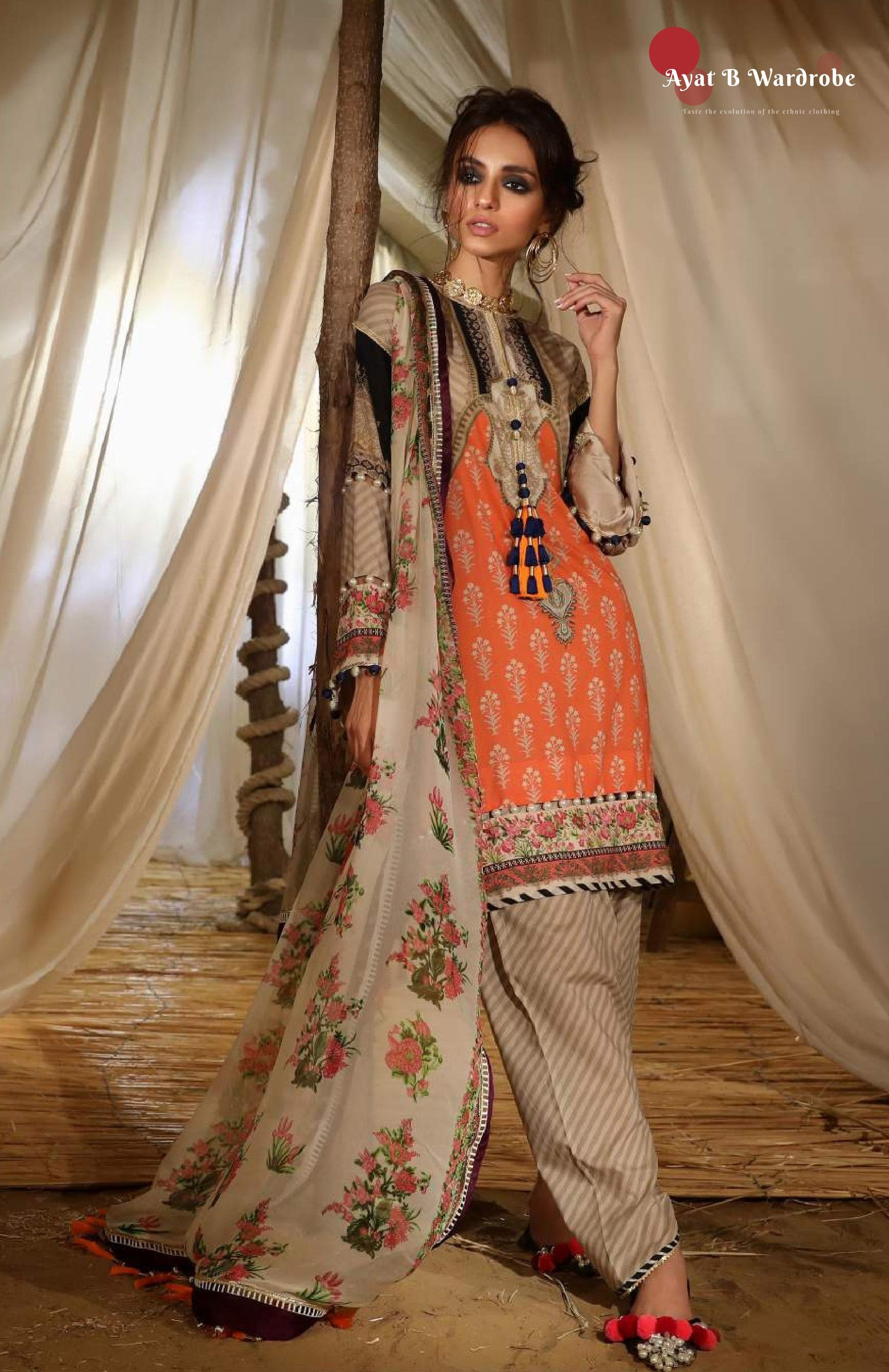 15-A [Sana Safinaz - Mahay Collection 2019]