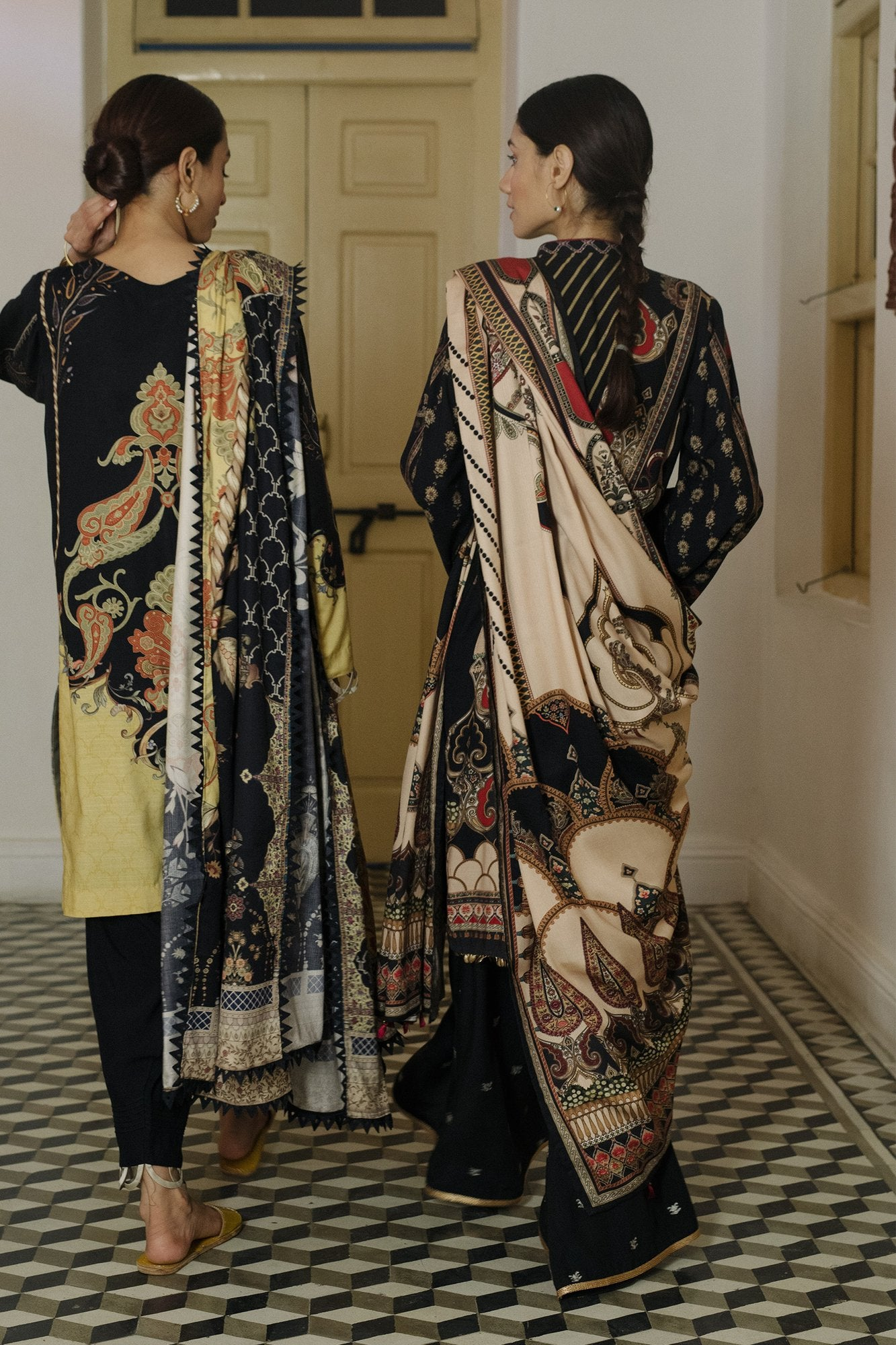 QLA-01 (Qalamkar - Qline Linen Collection 2019)