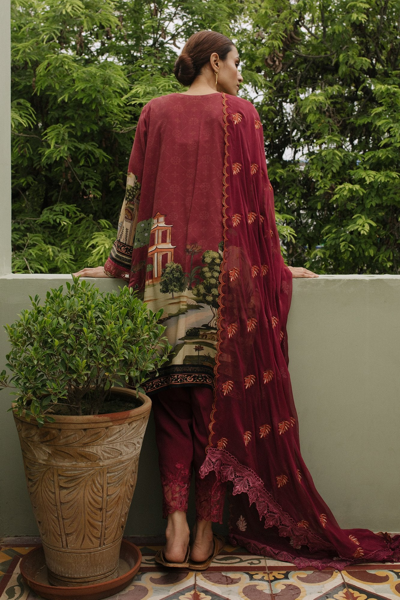 QLA-09 (Qalamkar - Qline Linen Collection 2019)