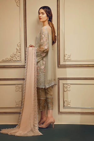 Pastel Perfection (Baroque Chantelle Embroidered Chiffon)