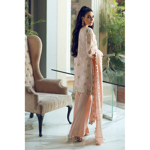 Pearl Shine (Rouche Chikankari Collection)