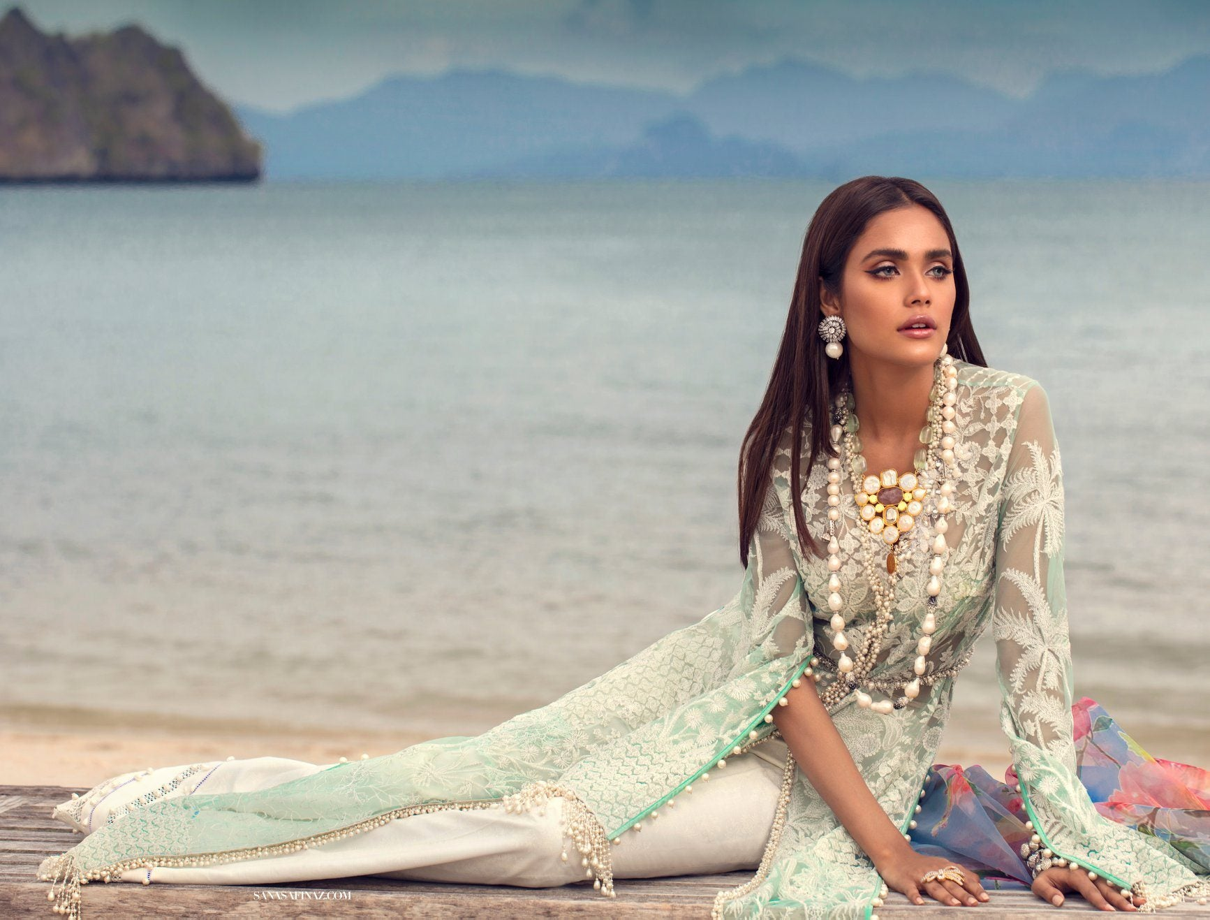 L201-008A-CJ (3Pcs) | Sana Safinaz | Luxury Lawn'20