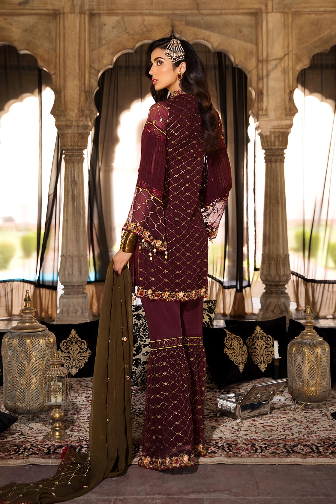 MP 126 Royal Merlot - [Maryam's Premium Eid - VOL. 3]