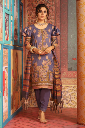 FC-W6C-19-Purple (Alkaram Festive Collection Volume III)