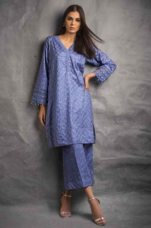 Royal Blue EA-90 [GulAhmed - Eid Ul Azha Luxury Collection 2019]