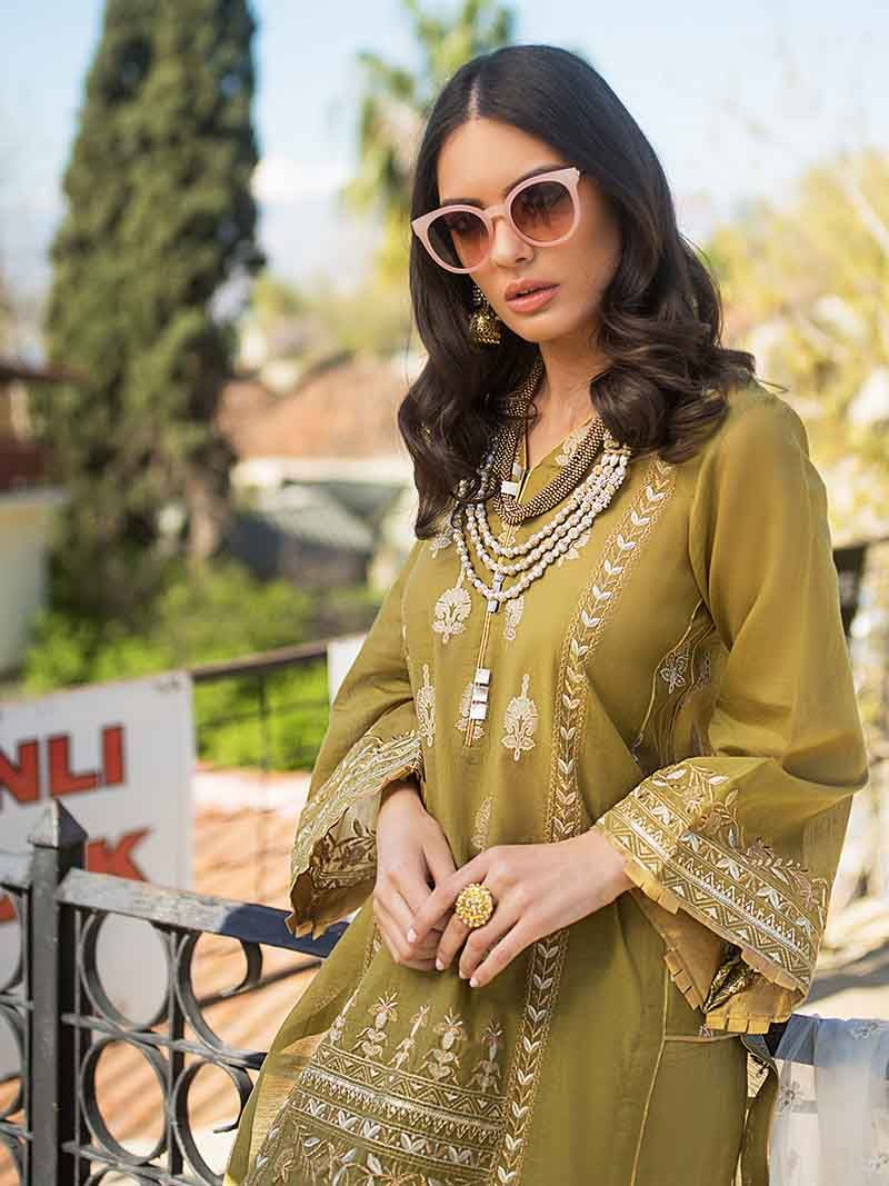 Mehandi EA-73 [GulAhmed - Eid Ul Azha Luxury Collection 2019]