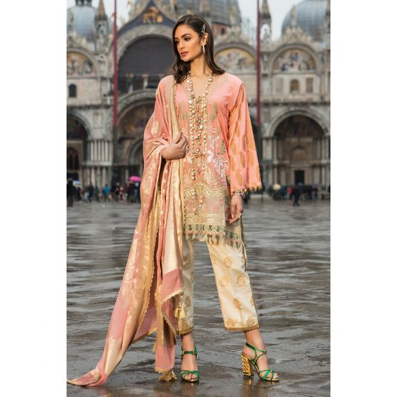 Indiano 15-A (3Pc) Sana Safinaz Luxury Lawn