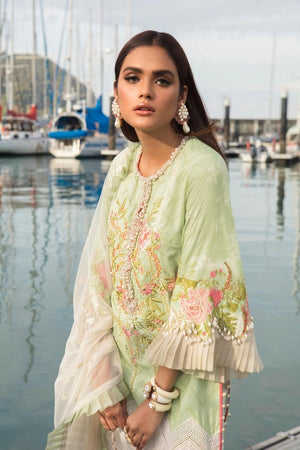 L201-001B-CJ (3Pcs) | Sana Safinaz | Luxury Lawn'20