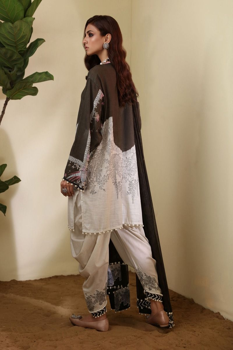 9-A [Sana Safinaz Muzlin Winter Collection]