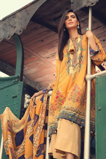 2379-Dusky-Sun [Motifz Amal Linen Collection]